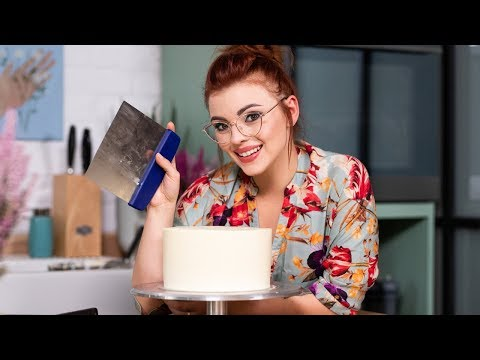 Jak otynkować TORT masą maślaną? | Sugarlady