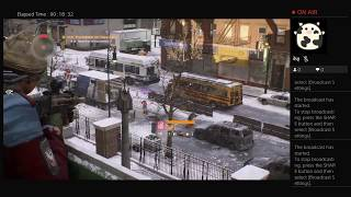 The Division, Part Thirty Four, PS4 Live Broadcast, No Commentary, Walkthrough