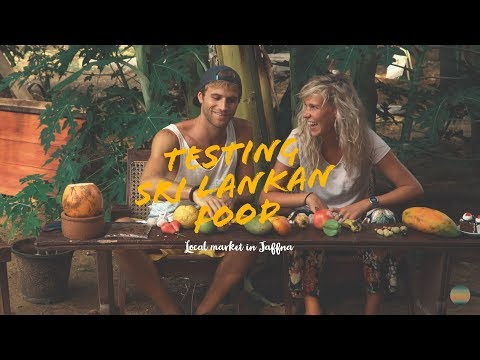 Testing Sri Lankan Food