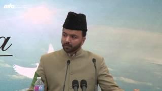 Obedience to Khilafat - Missionary Salman Sheikh - Jalsa Salana West Coast USA 2015