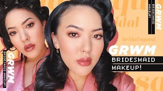 Easy, Long-Lasting Bridesmaid Makeup GRWM | soothingsista