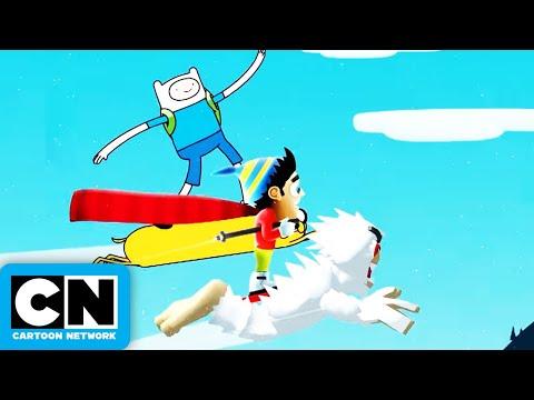 Ski Safari | Adventure Time | Cartoon Network