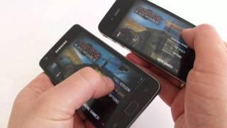 Samsung Galaxy S II vs. iPhone 4 - Android vs. iOS