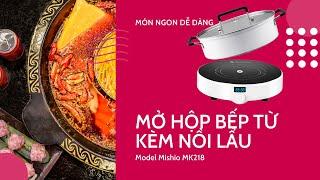 Bếp Điện Từ Đơn Mishio MK218
