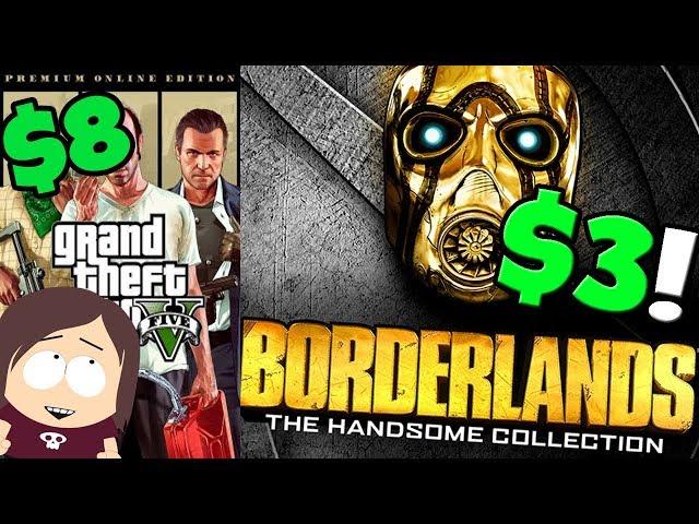 Borderlands Handsome Collection $3 || + More Great Deals