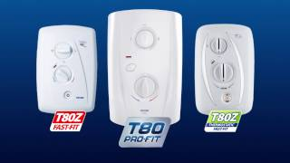 T80 Pro Fit Electric Shower