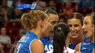 European Championship 2009 Women's volleyball Turkey - Serbia