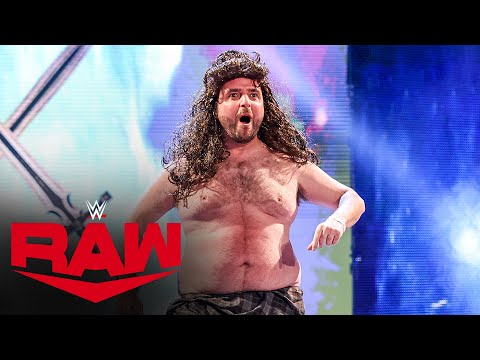 """""""Goldberg"""" and """"Drew McIntyre"""" have a heated confrontation: Raw, Jan. 18, 2021"""