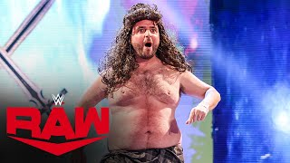 """Goldberg"" and ""Drew McIntyre"" have a heated confrontation: Raw, Jan. 18, 2021"