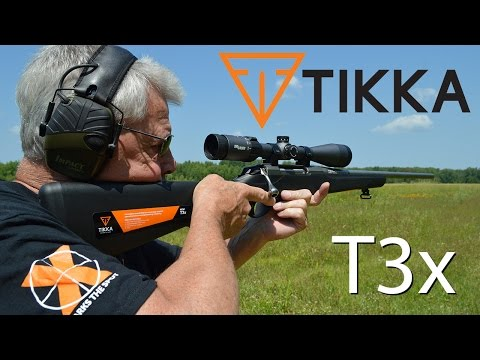 Tikka T3x bolt action rifle review