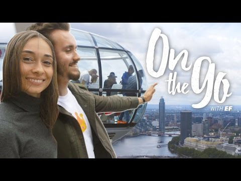 On the go with EF #30 – Maria explores London's South Bank with Daniel