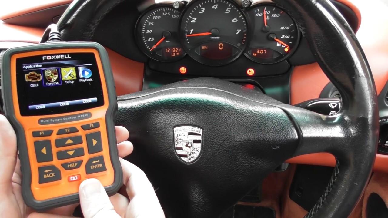 Porsche Boxster 986 Airbag Light Diagnose & Reset