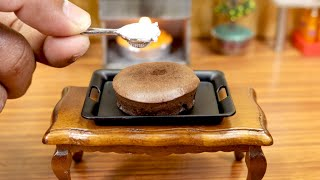Miniature Chocolate Gateau I Mini real cooking with MDC