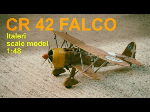 Fiat CR 42 Falco - Italeri 1:48 scale model