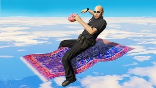 Cops Confiscate His Flying Carpet! (GTA RP)