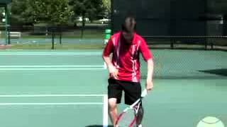 учимся подавать в большом теннисе часть 4