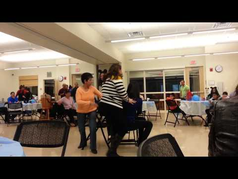 Musical chairs woman can't follow rules