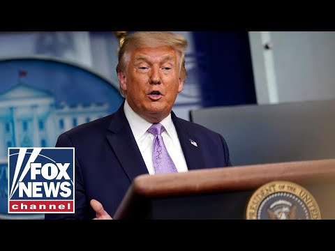 LIVE: Trump holds news conference at White House