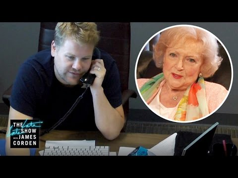 Betty White Prank Called James Corden