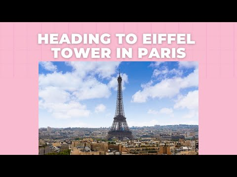 Heading To Eiffel Tower In Paris