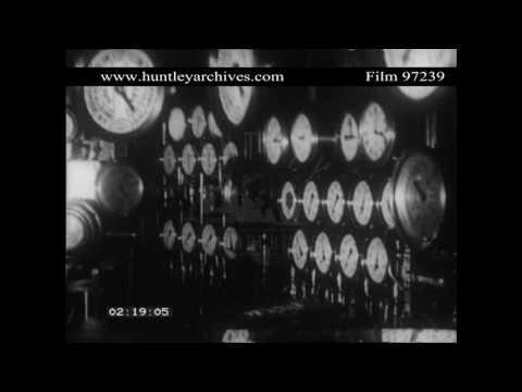 Aquitania in New York.  Archive film 97239
