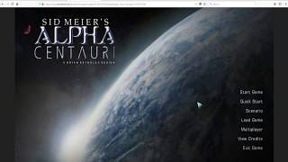 Classic Game Review. Sid Meier's Alpha Centauri. Greatest TBS Ever.