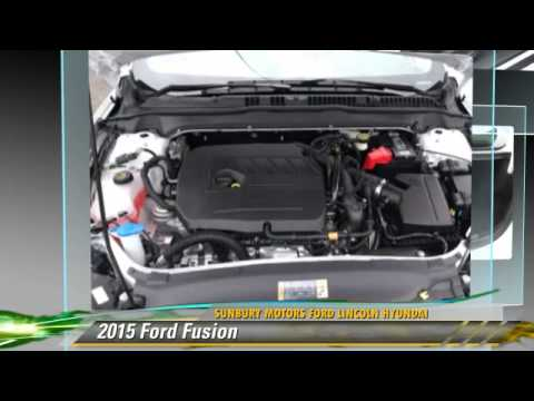 2015 ford fusion sunbury pa fb901 youtube for Sunbury motors commercial trucks
