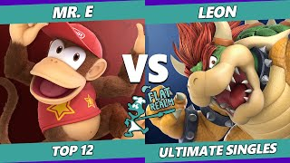 Random Flatrealm Top 12 - Mr. E Vs. SSG | LeoN - Smash Ultimate SSBU