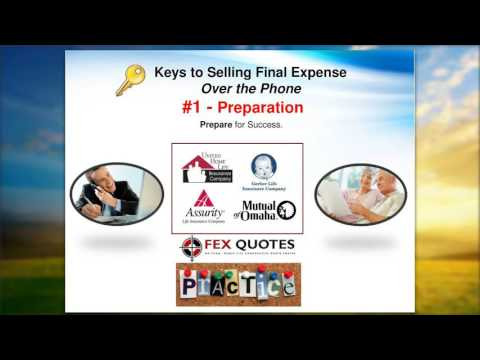 Selling Final Expense by Phone