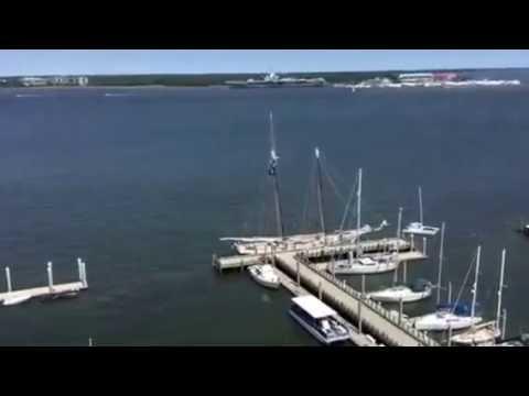 Charleston,S.C. Harbor View