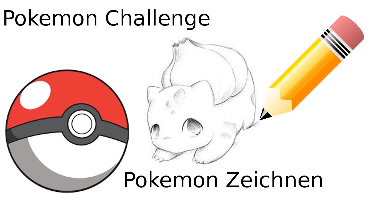 Pokemon Challenge Pokemon Malen