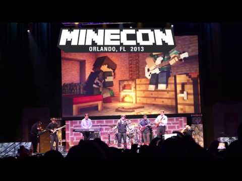 SkyDoesMinecraft Sings New World Parody of Coldplays Paradise MINECON 2013 LIVE