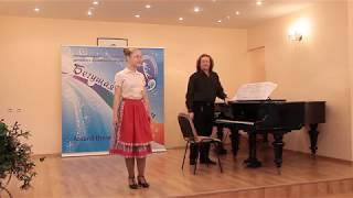 Варвара Баученкова 12 лет И. Дунаевский