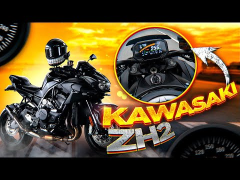 Kawasaki ZH2 монстр на компрессоре   Зачем столько мощности?