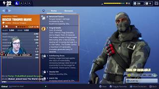 Fortnite: Battle Royale - New Twitch Prime Loot! Havoc and Sub Commander!