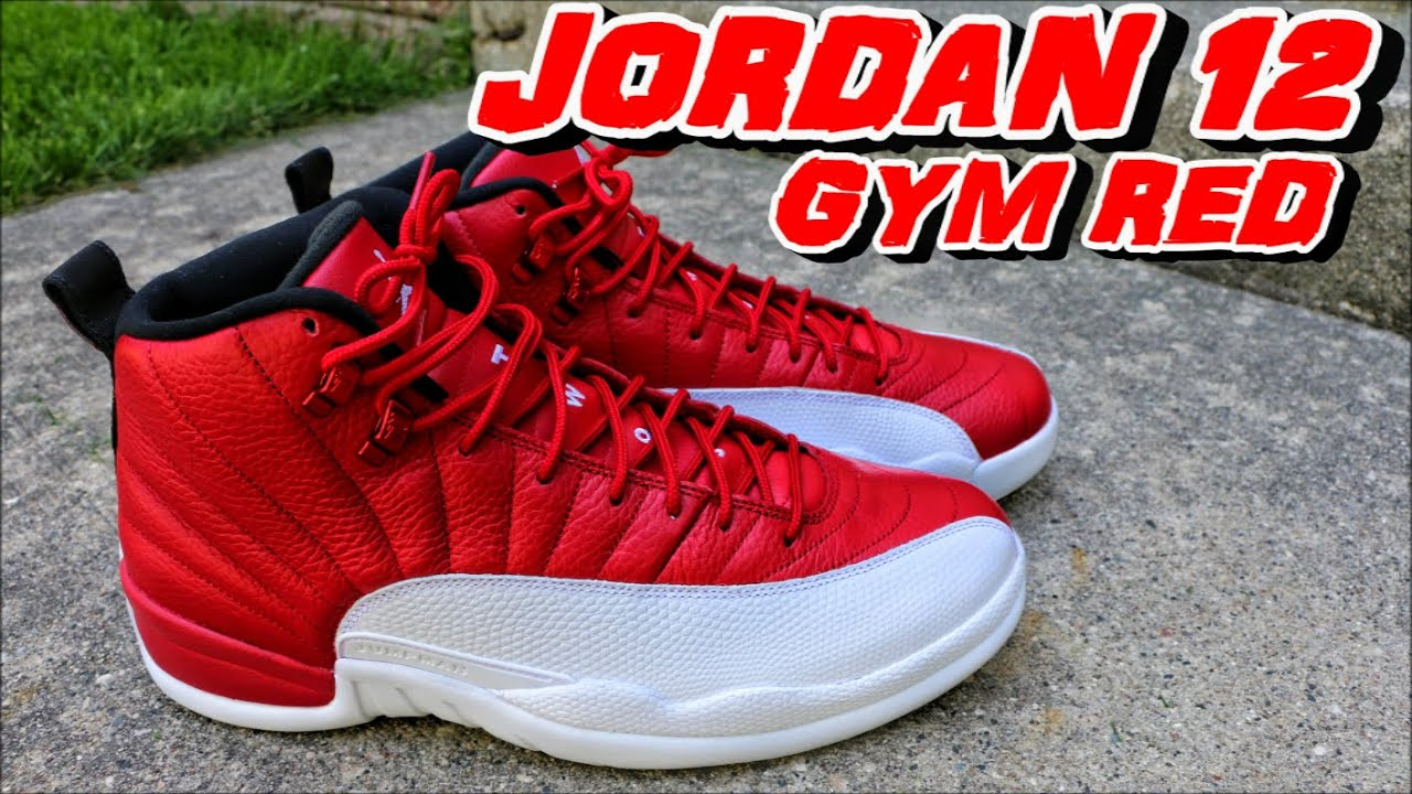 brand new 2a152 ff741 AIR JORDAN 12 GYM RED ALTERNATE REVIEW + ON FOOT