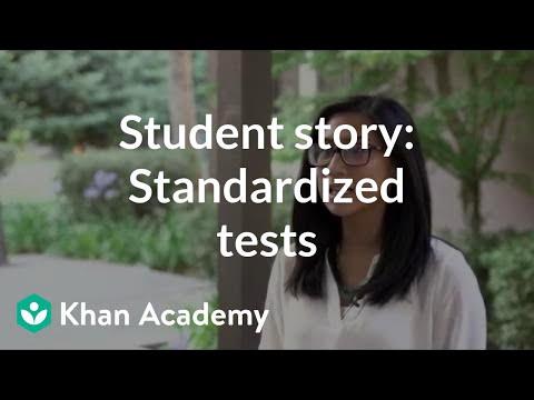 Student story: Standardized tests