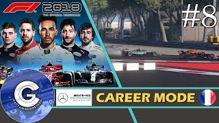 Let's Play F1 2018 Career Mode   Mercedes Career #8   CONTROVERSY IN FRANCE!