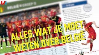 GROEP G - BELGIË: 'Topspelers, maar geen TOPFAVORIET voor de WK-Titel.'