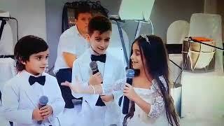Дети спели песенку до слез на свадьбу сес