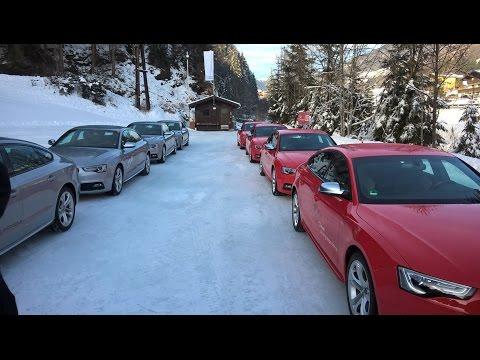 Audi driving experience 2016 Saalbach/Austria