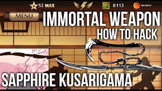 [Part 1] Shadow Fight 2 Immortal Weapon Mod [Combine Two Weapon]