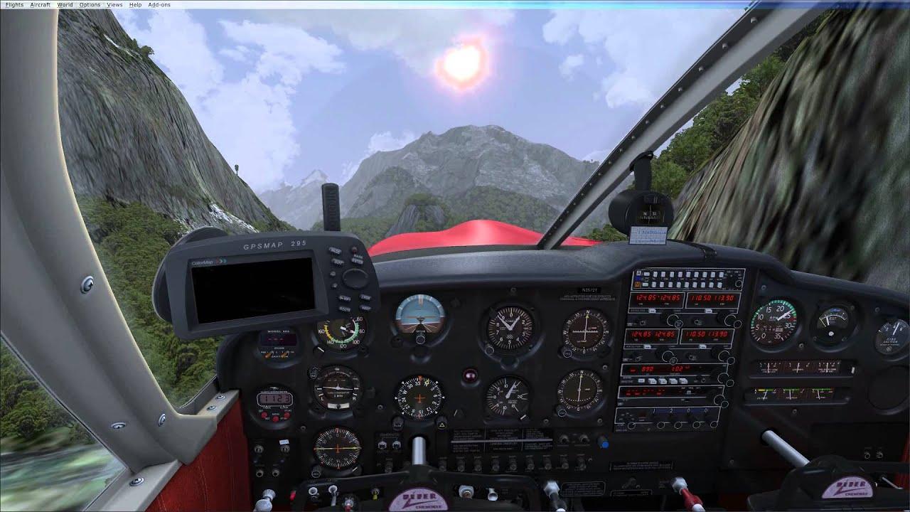 FSX A2A Cherokee 180 bush flying