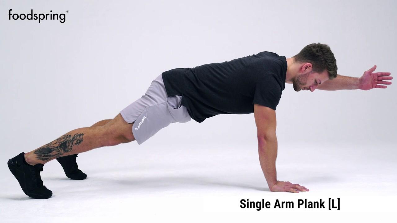 Trainiert Arme und Rücken, um Gewicht zu verlieren