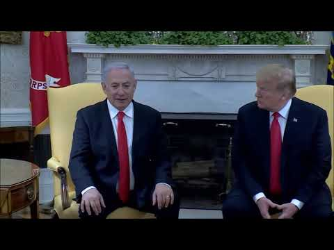 Remarks by PM Netanyahu and US President Trump at the Oval Office
