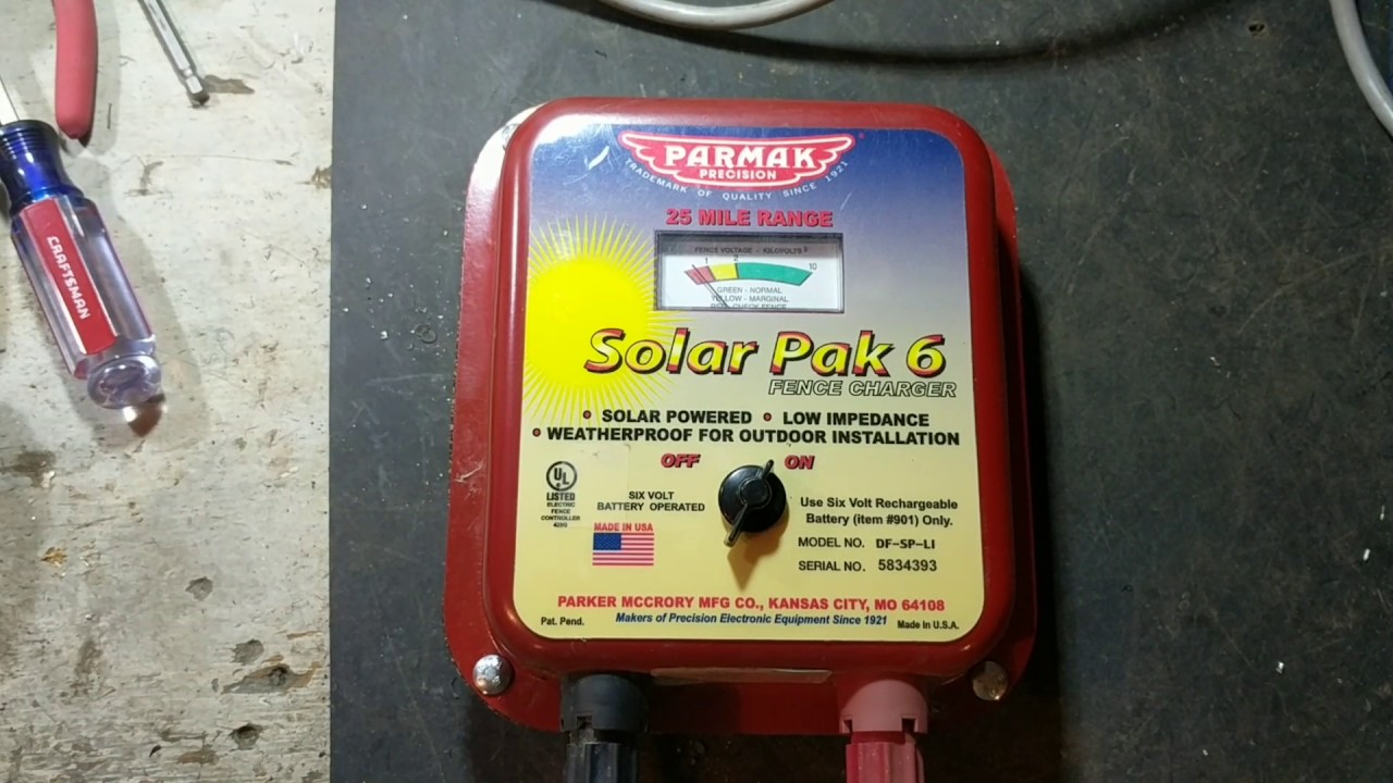 hight resolution of parmak solar pak 6 fence charger