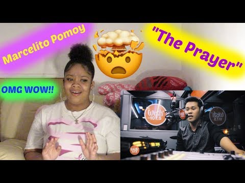 Marcelito Pomoy sings- The Prayer Celine Dion:Andrea Bocelli  on Wish 107 5 Bus REACTION