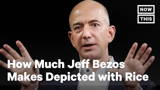How Much Jeff Bezos' Fortune Has Grown Amid Pandemic, in Rice | NowThis