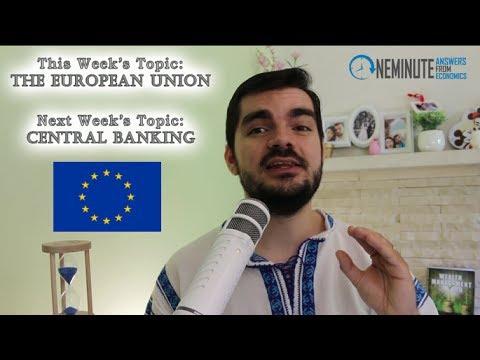 Eurozone Flaws, EU Monetary/Fiscal Policy, European Union Politics/Democracy [One Minute Answers]
