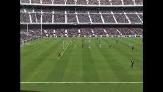 Let´s Play FIFA 14 Demo 1# PC gameplay FC Barcelona vs Man City [HD]
